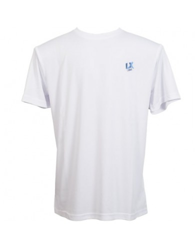 Camiseta Técnica Blanca/Azul