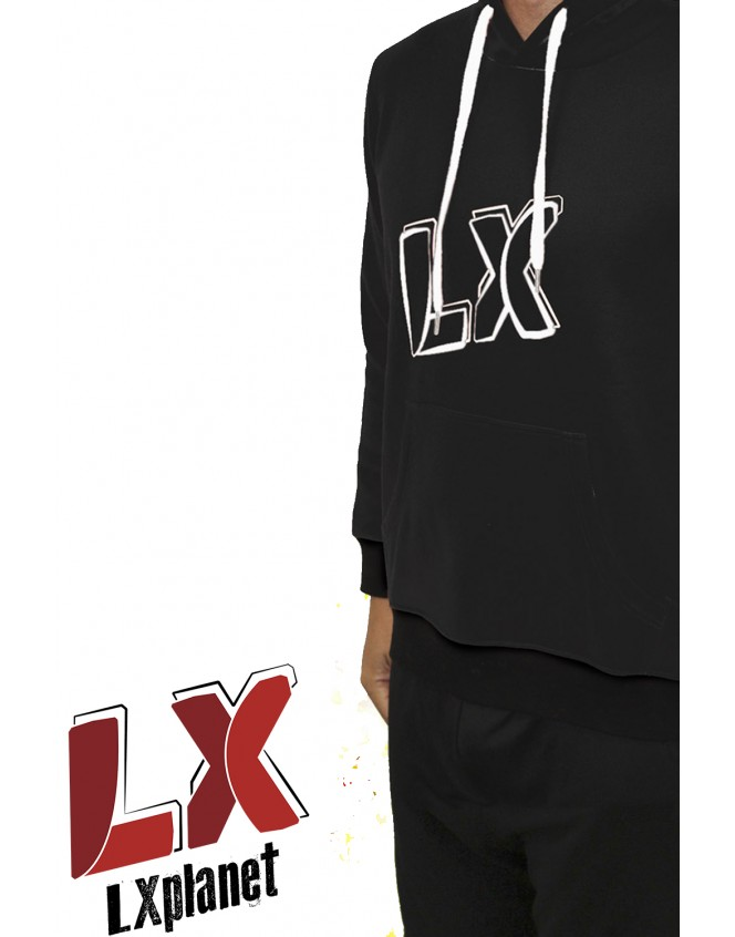 Sudadera Black LX Team
